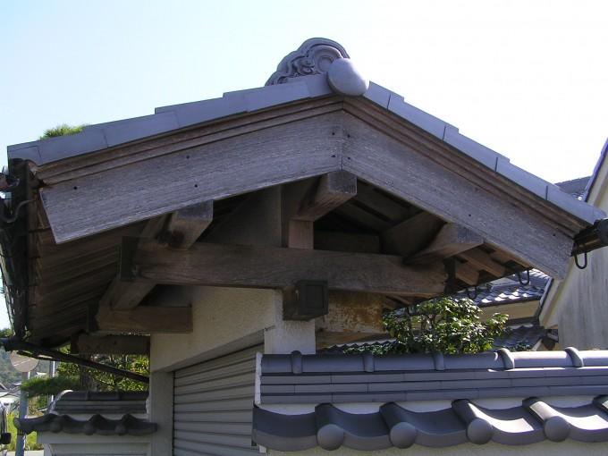 吉川町前田Y様邸門改修工事